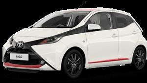 Economy Car Santorini - rent a car santorini - santorini car rentals - car hire santorini - Toyota Aygo 2018