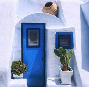 Fira town Santorini - rent a car santorini - car rentals santorini