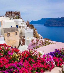 Oia Village Santorini - Rent a car santorini - car hire santorini - rental cars santorini