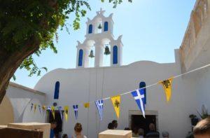 Holy spirit monday in Santorini - rent a car santorini - rental cars santorini - car rental santorini - car hire in santorini