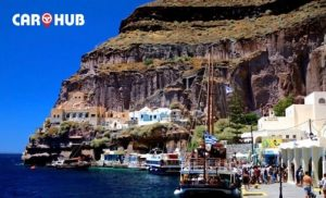 Santorini port one beautiful ports world